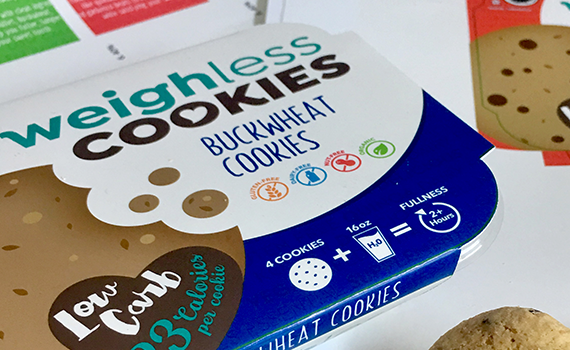 Weighless Cookies